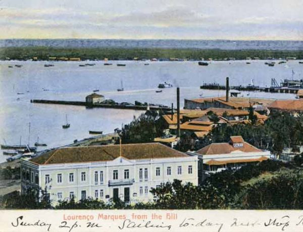 Lourenzo Marques, (Maputo/ Mozambique) from the hill around 1900