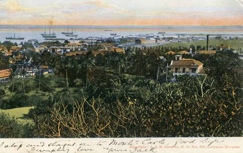 Lourenzo Marques, (Maputo/ Mozambique) The Harbour around 1900